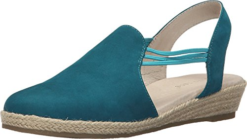 (David Tate Women's Nelly Slingback,Turquoise Nubuck,US 8 M)