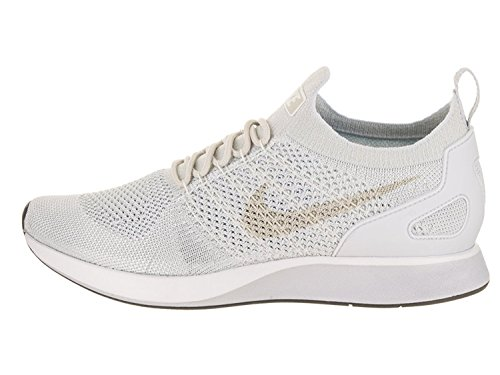 NIKE Air Zoom Mariah Flyknit Racer Men's Shoes Pure Platinum/Dark Grey 918264-011 (13 D(M) US) ()