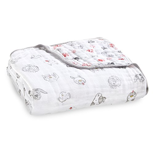 aden + anais limited edition Year of the Dog dream blanket