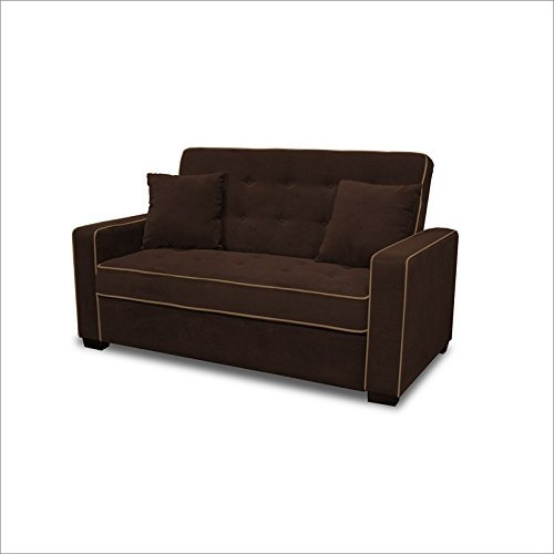 Serta Dream Convertibles Augustine (Jacksonville) Convertible Sofa in Java
