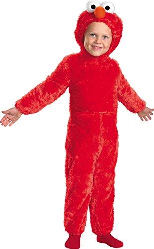 [Elmo Comfy Fur Costume - Medium (3T-4T)] (Mime Costume Easy)
