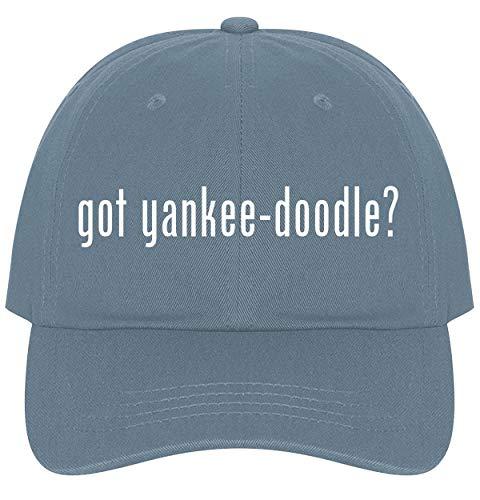 The Town Butler got Yankee-Doodle? - A Nice Comfortable Adjustable Dad Hat Cap, Light Blue ()