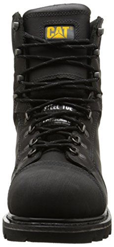 Black Men's Caterpillar Toe Tracklayer Work 8 Boot Inch Steel HSw48qdB
