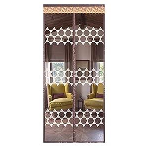 HaGa-Welt.de - Zanzariera magnetica per porte e balconi, senza fori, dimensioni: 100 x 220 cm 5 spesavip