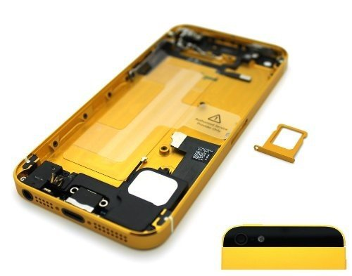 Muze-For Iphone 5s New Original Preassembled Metal Back Cover Housing  Replacement Battery Door Assembly de5e9894f5