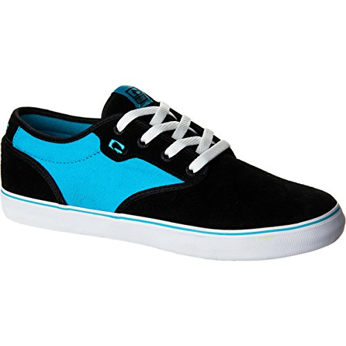 Globe Skateboard Shoes Motley Black/Fluoro Blue