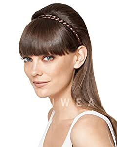 Hairdo French Braid Band Synthetic Hairpiece (R4 Midnight Brown)