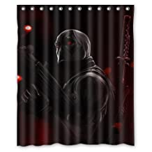 Contracted Deadpool Game Custom Shower Curtain 60 x 72 Inch Perfect