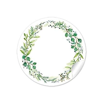 DASS DU DA BIST /• EUKALYPTUS ZWEIGE GR/ÜN MINT WEI/ß /• Gastgeschenke Marmelade Hochzeitsmarmelade Tischdeko Selbstgemachtes u.v.m 72 STICKER Hochzeit SCH/ÖN /• 4cm rund matt