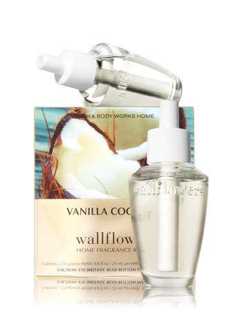 Bath & Body Works Vanilla Coconut Wallflowers Home Fragrance Refills