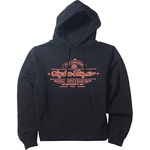 Troy Lee Designs Womens Stacked Fleece Hoody Pullover Sweatshirt X-Large -