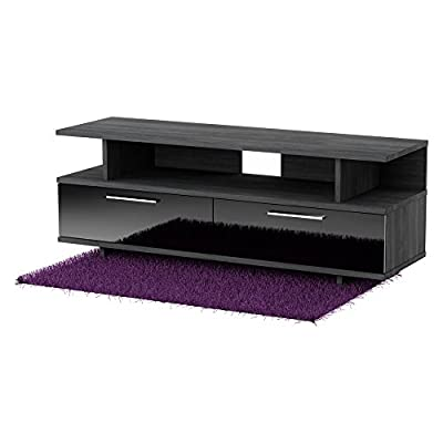 South Shore Reflekt Collection TV Stand, Gray