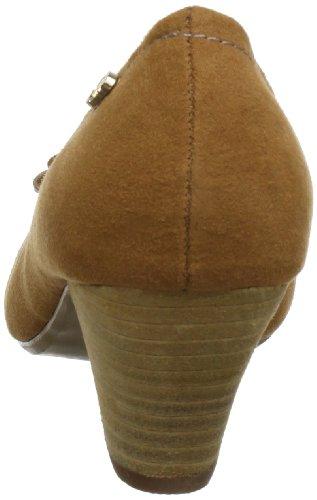 25784 Marrone Xti Sp13 Scarpe Col X6 braun Donna Tacco camel dxxq7Ywv