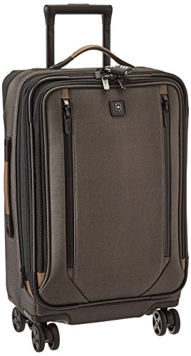 - Victorinox Lexicon 2.0 Dual-Caster Large Expandable Spinner Carry-on, Gray