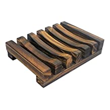 Karazan Bath Accessories Natural Wood Soap Dish/Soap Holder(No.005)