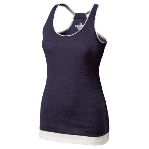 Holloway Juniors Pep Vintage Tank (XX-Large, Vintage Navy/White) by Holloway