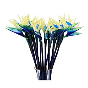 Artificial Fack Bird of Paradise Nearly Natural Flowers for Home Hotel Decoration or Wedding Bouquet 10 pcs set 18