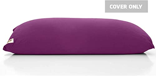Yogibo Max Replacement Bean Bag Cover Removable, Washable, Deep Purple