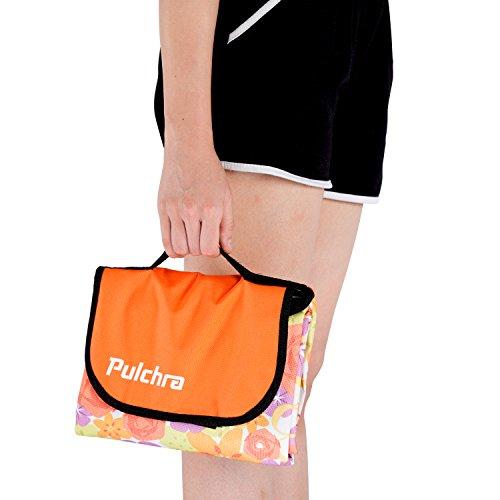 Pulchra Picnic Blanket Waterproof Premium Quality (600D Oxford Fabric) Large (80