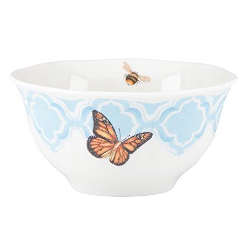 Lenox Butterfly Meadow Trellis Rice Bowl, -