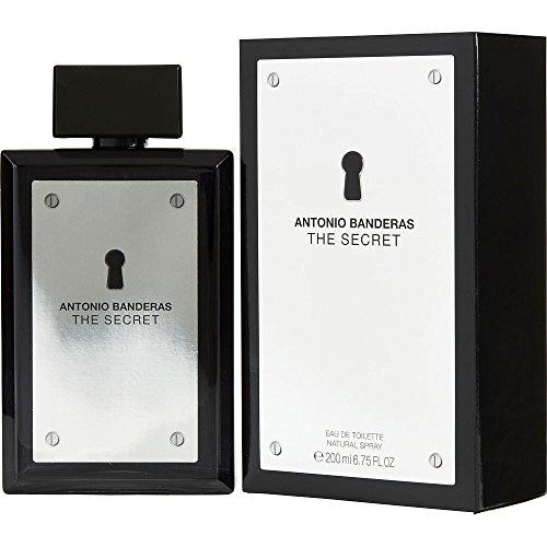 THE SECRET by Antonio Banderas EDT SPRAY 6.7 OZ for MEN ---(Package Of 2)