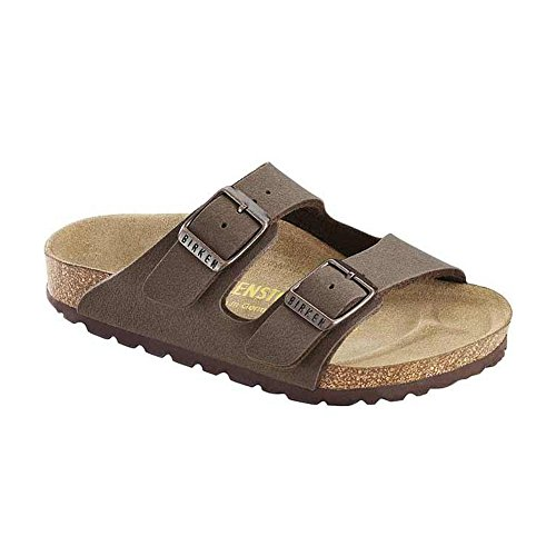 Birkenstock Arizona Cork Footbed Sandal (Toddler/Little Kid/Big Kid), Mocha, 34 EU(3-3.5 N US Big -