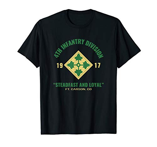 4th INF DIV Steadfast and Loyal T Shirt