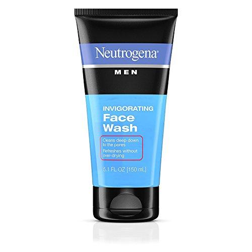 Mens Invigorating Daily Foaming Gel Face Wash, Energizing and Refreshing Oil-Free Facial Cleanser for Men 5.1 fl. Oz, 2 (Invigorating Face Wash)