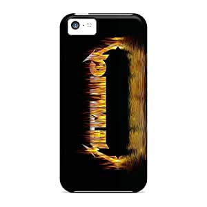 Iphone 5c WMs1396rFno Support Personal Customs Stylish Metallica Pattern Best Hard Cell-phone Case -ColtonMorrill