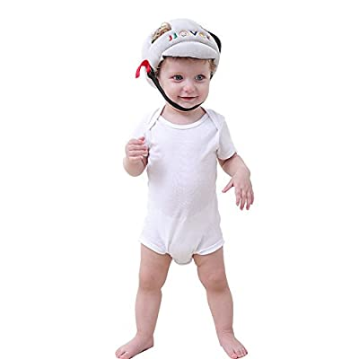 SHP Adjustable Baby Toddler Safety Helmet Hat Head Protection,Infant Protective Safety Hat, Protection Hat for Biking Walking Crawling