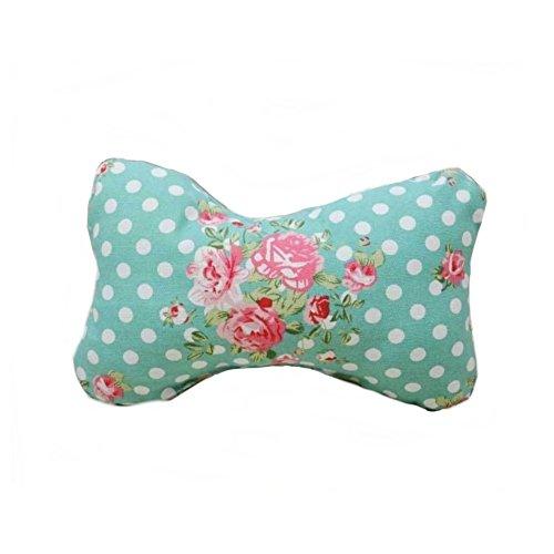 Stock Show 1Pc Pet Dog Bone Toy Chew Toy 11.8 Inch Dog Cat Bone Pillow, Blue Flower ()