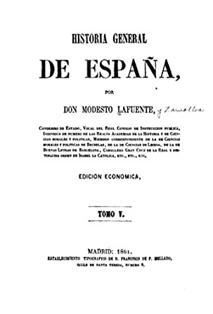 Historia General de España - Tomo V (Spanish Edition) eBook