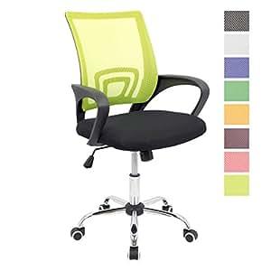 Cashoffice silla de escritorio ergon mica silla de for Silla ergonomica amazon