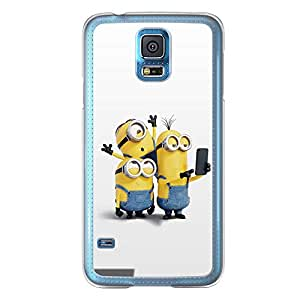 Loud Universe Samsung Galaxy S5 Files Minion 17 Printed Transparent Edge Case - Multi Color