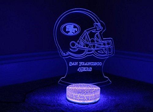 San Francisco 49ers 3D LED Night Light 7 Color