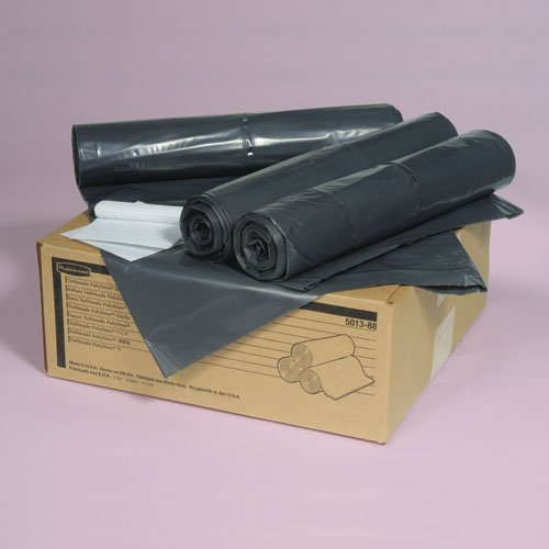 RCP501188GRA - Rubbermaid 5011-88 Tuffmade Polyliner Low-Density Can Liners, 55 Gallons FG501188GRAY COURCP501188GRA
