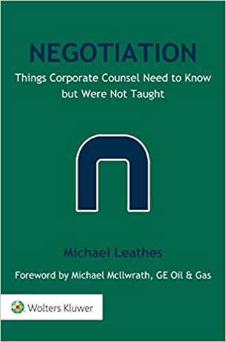 Negotiation things corporate counsel need to know but were not negotiation things corporate counsel need to know but were not taught kindle edition fandeluxe Images