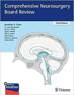 Comprehensive Neurosurgery Board Review: Amazon co uk