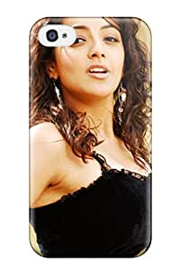 New Style Hot New Actress Kajal Agarwal Case Cover For Iphone 4/4s With Perfect Design