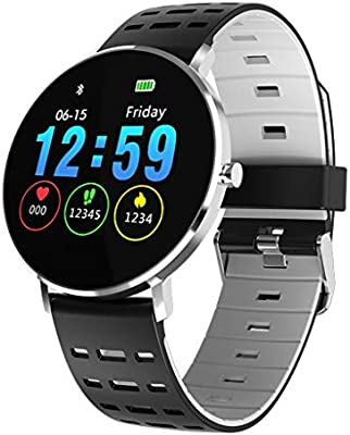 Amazon.com: Highpot 1.22Inch Color Full Screen Smartwatch ...
