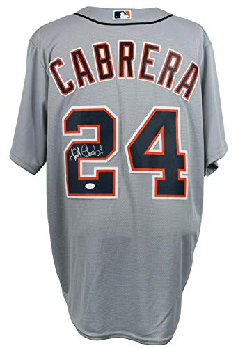 Miguel Cabrera Signed Jersey - Majestic Cool Base - JSA Certified - Autographed MLB Jerseys