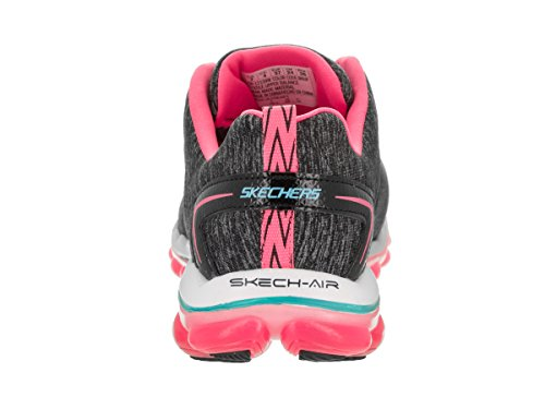 Skechers Sport Damen Skech Air Run High Fashion Sneaker Grau / Pink