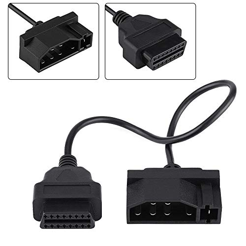 7 pin OBD1 to OBD2 Adapter Code Reader Scanner Check Engine Repair Tool For Ford