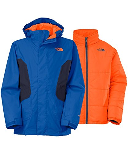 The North Face Big Boys Boundary Triclimate - monster blue, xl/18-20 by The North Face