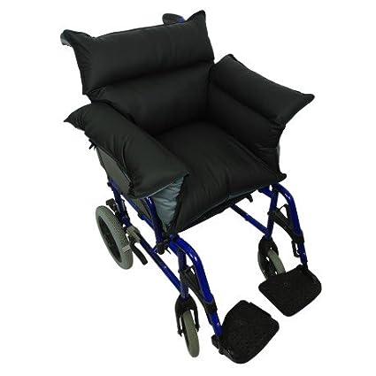 Queraltó - Cubresilla acolchado Saniluxe T/L para silla de ruedas | Cubre silla de