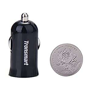 Slim 18W Car Charger works with HTC Desire SV Turbo Quick Charge 2.0 + VoltIQ and 1M/3.3Ft MicroUSB! [UL Certified]