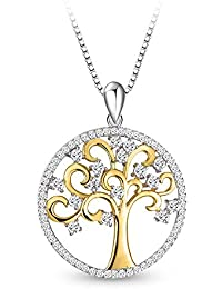 Sterling Silver Necklace, T400 Jewelers Tree of Life...