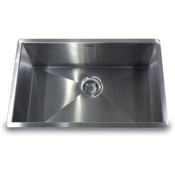 Nantucket sinks zr2818 16 28 inch pro series single bowl undermount nantucket sinks zr2818 16 28 inch pro series single bowl undermount kitchen sink workwithnaturefo