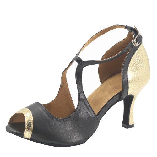 2 Shoes gold Woman's 5''heel in Latin 2 Colors Pu Msmushroom vSBRHgn