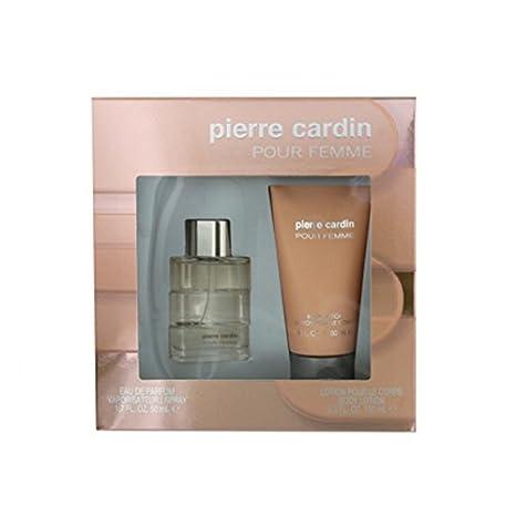 aa2b81070 Pierre Cardin Coffret pour Femme Eau de Parfum 50 ml + Lait Corps 150 ml